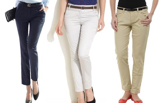 Women Lower Wear-Different Types Of Pants